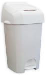 Nappease(TM) Windeleimer Weiß und Grau mit modernem und robustem Design - Nappy bin