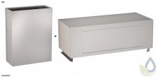 SET Abfallbehälter RODX607 und Klappdeckel RODX608 aus Edelstahl von Franke