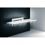 Pressalit festmontierte Dusch- und Pflegeliege aus Stahl 1400mm oder 1800mm