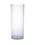 12 St. Longdrink Gläser - 0, 25 l - Kunststoff Glasoptik