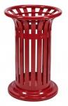 Rossignol Tulipe Abfallbehälter 60L zum Aufstellen oder zum Befestigen