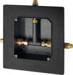 Franke Rohbauset für Mischarmaturen DN 15 zum Wandeinbau für Duschanlagen
