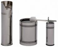 G-Line Pro Scopinox Ersatzrollenhalter für Toilettenpapier aus poliertem Edelstahl 1.4016