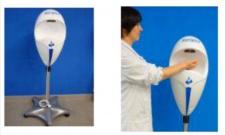 Steriplus mobiler, automatischer Händedesinfektionspender elektronisch 1, 5L nachfüllbar