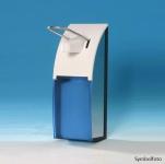Metzger Spender blau 0, 5l für Flüssigseifen, Pflegelotionen, Desinfektionsmittel