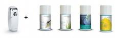 P+L Duft Starter Set - Sommerfrische - mit Chrom Spender