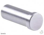 Proox® ONE pure PU-568 Handtaschen - Mantelhaken Edelstahl matt gebürstet Wandmontage