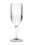 Kunststoff Weinglas Vinalia 1/8l SAN glasklar wiederverwendbar Spülmaschinen tauglich