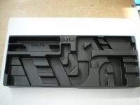 Beta 2400 TV77 Thermoformateinsatz 1/4 leer