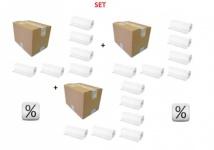 Super Vorteilspackung 3 Karton x 6 Rollen Economic - Hygienische Auflage