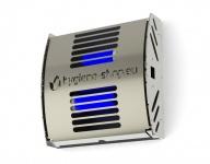 FliBlade 40 Insektenvernichter aus Edelstahl mit 2 x 20 Watt Eco Lampen