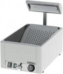 Casselin Pommes-Wärmer GN1/1 1200 Watt aus Edelstahl Aisi 310 mit Ablassventil