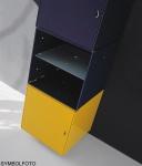 Graepel High Tech Tür aus lackiertem Stahl für die QBO base und base x Würfel