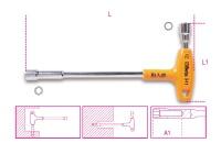 Beta Steck-Schlüssel, 12kant x 6kant, mit Griff 941