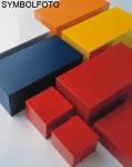 Graepel High Tech hochwertige T-Shirt Color Box aus lackiertem Edelstahl