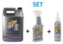 Set - UrineOff für Hunde + UrineOff Formula Spray 118ml + UrineOff Spray 500ml