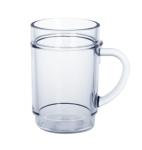 G`spritzter-Schorle-Glas 0, 25l SAN glasklar Kunststoff stapelbar lebensmittelecht