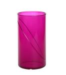 20er Set Wasserglas 0, 25l SAN rot aus Kunststoff wiederverwendbar