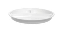 20er Set Mehrwegteller aus Kunststoff 3-teilige Teller lebensmittelecht
