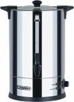 Casselin Wasserkocher 10l Edelstahl 1600W - Anti-Brand-System - Füllstandsanzeige
