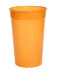 20er Set Kunststoff Mehrweg-Becher orange 0, 2l leicht und vielseitig