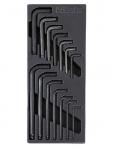 Beta Thermoformateinsatz T56 mit 14-teiligen Sechskant-Stiftschlüsselsatz