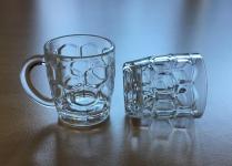20er Set Mini Bierkrug - Schnapsglas aus Kunststoff