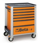 Beta Werkzeugwagen orange + 147tgl. Easy Sortiment