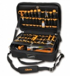 Beta Werkzeugtasche aus High-Tech-Gewebe inkl. 48-teiligen Werkzeugsortiment