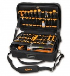 Beta Werkzeugtasche aus High-Tech-Gewebe inkl. 75-teiligen Werkzeugsortiment