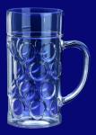 Maß Krug 1l SAN Glasklar aus Kunststoff Spülmaschinen fest und lebensmittelecht