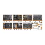 Beta Werkzeugsortiment 212 tlg. 5908VG/2T für KFZ-Mechanik