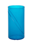 20 Stück Wasserglas 0, 25l SAN blau aus Kunststoff wiederverwendbar