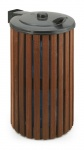 Außenbehälter aus Holz 110 Liter