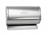 Sanmed Küchenrollenhalter aus poliertem Edelstahl für Rollen Ø 125 mm x 230 mm