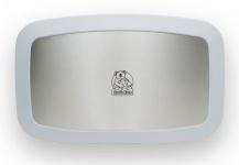 Koala Wickelstation KB200-05SS Granit-Weiß Edelstahlfront MICROBAN® Hygieneschutz