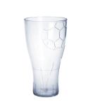 EURO CUP Fussball Bierglas 0, 5l glasklar Kunststoff wiederverwendbar lebensmittelecht