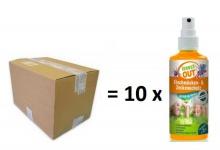 Set 1 Karton mit 10 x Insect-OUT® Stechmücken und Zeckenschutz Lotion für Kinder 100 ml