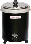 Casselin elektrischer Suppenkocher 8, 5 Liter - Edelstahl mit Thermobeschichtung