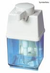 Metzger Dosierspender aus Plastik 1 l in Weiß - für Handreiniger und Reibemittel