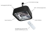 HeizMeister Quadrus von Infralogic IP 65 Infrarot Heizer