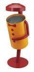 Funbin Clown Abfallbehälter mit Aschenbecher
