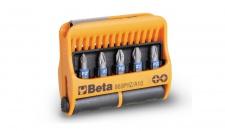 Beta Sortiment mit 10 Schraubeinsätzen und magnetischer Schraubeinsatzhalter, im Kunststoffkasten 860PHZ/A10