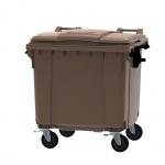 Container 1100 Liter flacher Deckel