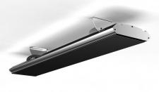 MO-EL Hot Top Dimmer moderner Dunkelstrahler mit Fernbedienung 9818D 1800W zur Wand/Deckenmontage