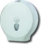 Marplast Jumbo Toilettenpapierspender in Weiß zur Wandmontage Kunststoff