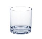 Whiskey-Glas SAN aus Kunststoff mit extra dicken Boden kaum von Glas zu unterscheiden