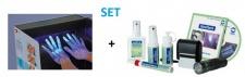 Set - Derma LiteCheck Box + GlowCheck Test-Kit für Flächenreinigung und Desinfektion