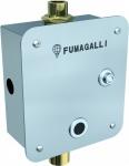 Fumagalli WC-Spülsystem mit Photozelle - aus Edelstahl Aisi 304 - mit Druckknopf