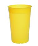 20er Set Kunststoff Mehrweg-Becher gelb 0, 2l leicht und vielseitig